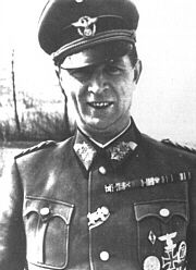 Waffen SS Obengruppenfuhrer, General Karl Heinrich Brenner - commander of the 6th SS Gebirgs Division Nord in September 1944, It was while in command of the 6th SS Gebirgs Division that he was awarded the Knight's Cross in December 1944-The Division was under command of the XVIII Mountain Corps and under attack by the advancing Russian forces in the Karelia sector. They were ordered to breakthrough at Kuusamo, Kiestinki and simultaneously to prevent reinforcements moving up. On 19 September…