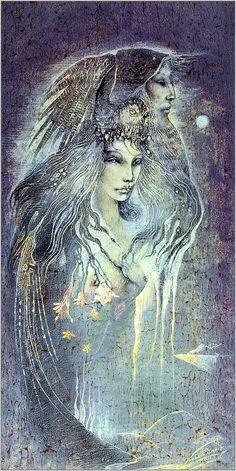 Nimue, Susan Seddon-Boulet illustration woman