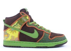 """The Nike Dunk SB High – Pro SB De La Soul was designed by De La Soul, and the hologram used on the heel was from their Album Cover of """"3 Feet High and Rising"""