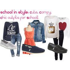 outfits for school - Google Search