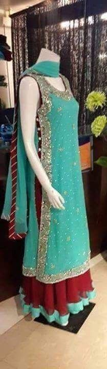 Pakistani dress. Pakistani designer dress, #Pakistanicouture