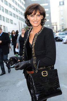 Ines de la Fressange - Paris Fashion Week - Lanvin Spring 2010 Arrivals