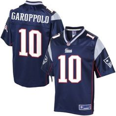 7b8481bfd Nike New England Patriots  10 Jimmy Garoppolo Blue Elite Jerseys   22.5  Patriots Memes