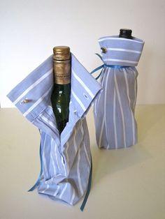 Kadoverpakking mouw van overhemd