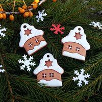 Vánoce / Zboží prodejce kuzu | Fler.cz Christmas Crafts, Christmas Decorations, Xmas, Christmas Ornaments, Holiday Decor, Cat Crafts, Diy And Crafts, Salt Dough Ornaments, Everyday Hacks