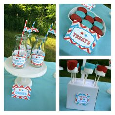 4th of july party | Fourth of July Party – Free Printable Party Pack