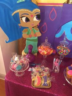 Sya's Shimmer and Shine 1st Birthday  | CatchMyParty.com