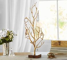 Branch Jewelry Stand #potterybarn silver please!