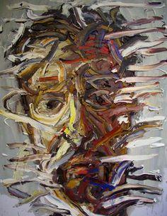 "Saatchi Online Artist Masri Hayssam; Painting, ""Self portrait - My last portrait #2 -SOLD-"" #art"