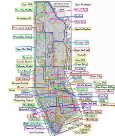 liste der stadtviertel manhattans wikipedia