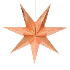 Holiday Hanging Star Large 30