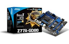 MSI Z77A-GD80 Thunderbolt Ready Gaming Motherboard Hands-On