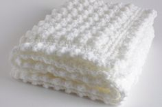 White handmade extra thickness crochet baby blanket/shawl. Ideal Christening / shower /new baby gift. by KnacketyGael on Etsy https://www.etsy.com/listing/161560215/white-handmade-extra-thickness-crochet