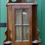 Riley Arts and Crafts oak billiard cue cabinet.B544 | Browns Antiques Billiards and Interiors.