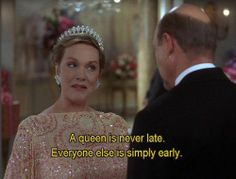 Queen Clarisse (Julie Andrews) in The Princess Diaries 2 Movies Quotes, Film Quotes, Funny Quotes, Humor Quotes, Funny Memes, Favorite Movie Quotes, Julie Andrews, The Princess Diaries, Film Romance