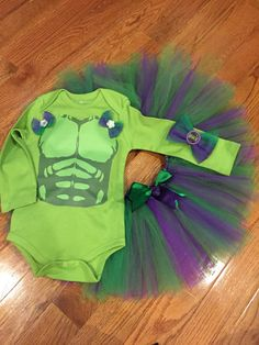 Hulk Tutu Halloween Costume for your Little Girl Princess. Hey, I found this really awesome Etsy listing at https://www.etsy.com/listing/267259686/hulk-tutu-costume