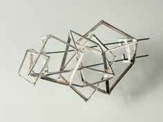 """Context Galeria - Oscar Abba - fermall / broche / brooch """"boucles"""""""