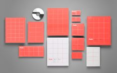 Anagrama have created a vibrant Identity for a firm that intergrates services for architectural spaces, Pladis.