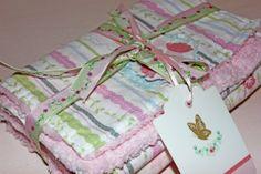 Shabby Chic Baby Burp Cloth Set Woodland by Shabbychicboutique28, $20.00