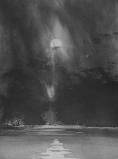 Norman Ackroyd(British, b.1938) Autumn Sunrise, Windermere  1998 etching and aquatint