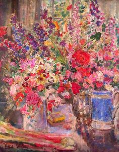 Flower Piece No.4 Ethel Walker - circa 1930