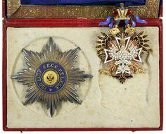 КОМПЛЕКТ ОРДЕНА БЕЛОГО ОРЛА ДЛЯ ИНОВЕРЦЕВ учрежден 1831 г.