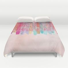 Chaos Over Simplicity duvet cover by Nikki Neri. www.society6.com/nikkineri