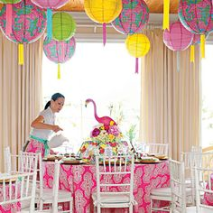 Lilly Pulitzer-Inspired Luncheon