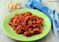 Gulasz z szynki, ciecierzycy i pomidorów | Z miłości do gotowania