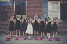 Harry Potter Bridesmaids #HarryPotterWedding