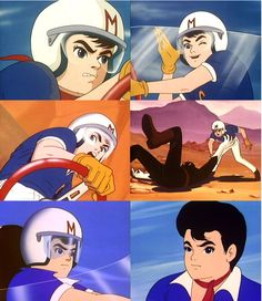 Speed Racer (Voiced by Peter Fernandez) Japanese Name: Go Mifune (Voiced by Katsuji Mori)
