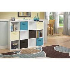 ClosetMaid Cubeicals 12-Cube Organizer Shelf - White