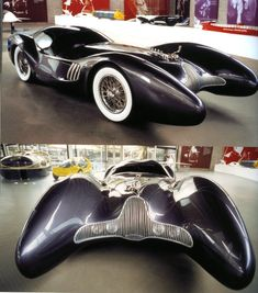 Luigi Colani - A good template for a Batmobile. Us Cars, Sport Cars, Weird Cars, Cool Cars, Colani Design, Auto Girls, Art Deco Car, Girly Car, Auto Retro