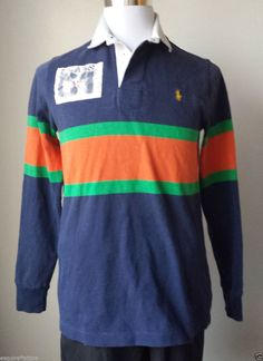 #men style POLO Ralph Lauren men size M rugby style long sleeve shirt RalphLauren withing our EBAY store at  http://stores.ebay.com/esquirestore