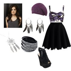 Aria Montgomery Inspired look