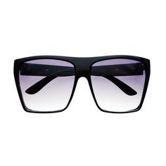 Large Retro Style Square Flat Top Sunglasses Shades FT05