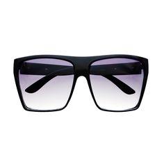 d81952db36b50 Large Retro Style Square Flat Top Sunglasses Shades FT05 Flat Top Sunglasses