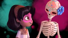 "Ringling College of Art and Design graduates Ashley Graham, Kate Reynolds, and Lindsey St. Pierre created ""Dia de los Muertos,"" an animated short film about a young girl remembering her deceased mo..."