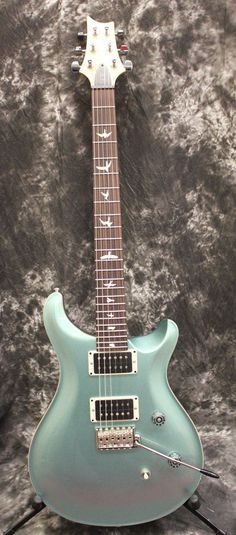 PRS Paul Reed Smith CE-24 Bolt-On Frost Green Metallic Electric Guitar w/Gigbag #electricguitar