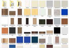 Textura de MDF para usar no Sketchup, texturas dos mais famosos fabricantes de MDF conhecidos no Brasil tais como Masisa, Eucatex, Duratex e Arauco.