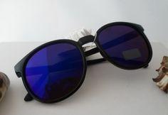 """Vintage Brillen - ☮ Sonnenbrille """"Retro-Style""""Schwarz☮ - ein Designerstück von Camden-Market bei DaWanda"""