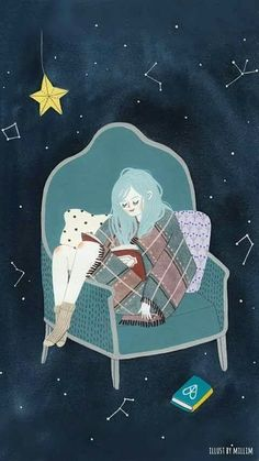Fantasy of the starry sky