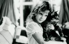 Drew Barrymore. This movie scared me as a kid but I loved it!