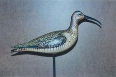 Bill Gibian Decoys  Beautiful Shorebird Carving by Bill Gibian!!