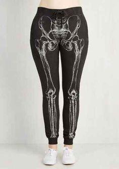 These skeleton sweatpants — $49.99