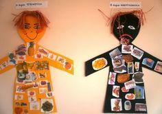 S o f i a' s K i n d e r g a r t e n: Μαθαίνουμε για την ΔΙΑΤΡΟΦΗ μας στο νηπιαγωγείο Healthy Food Activities For Preschool, Preschool Education, Toddler Activities, Preschool Activities, Ant Crafts, Food Crafts, Fruit Nutrition Facts, Phonics Blends, Diy Birthday Decorations
