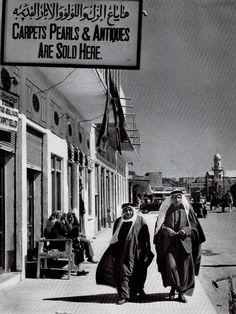 Looks like Kuwait. Early 1900s. Souk el lulu ayyam el lulu