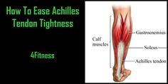 This video has a great demonstration on how to ease achilles tendon tightness. These techniques also work well for shin splints. Tight Achilles Tendon, Stretch Armstrong, Running Injuries, Heel Stretch, New Year New Me, Shin Splints, Calf Muscles, Plantar Fasciitis, Fitness Inspiration