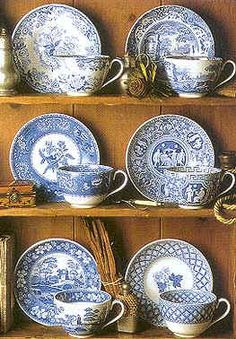 My Spode Blue Room china makes me happy every time I use them.