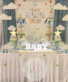 Twinkle Twinkle Little Star Baby Shower ideas Twinkle Twinkle Little Star Dessert Table
